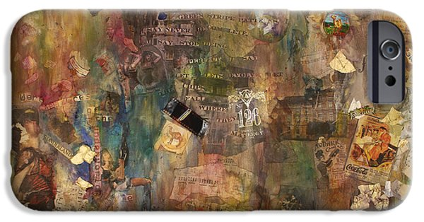 Alice In Wonderland Mixed Media iPhone Cases - Give Me Wonderland iPhone Case by Simonne Mina
