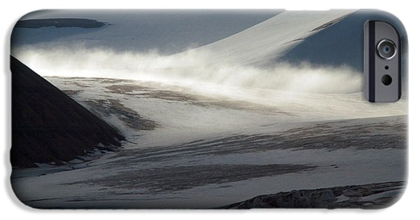 Mist iPhone Cases - Glacial Mist  iPhone Case by Joanna Patterson