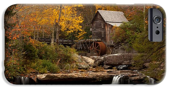 Grist Mill iPhone Cases - Glades Creek Mill iPhone Case by Doug McPherson