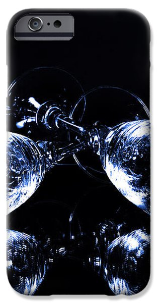 Glass of shampagne iPhone Case by Toppart Sweden