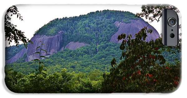 Pathway iPhone Cases - Glass Rock iPhone Case by Chuck  Hicks