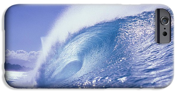 Turbulent Skies iPhone Cases - Glassy Wave iPhone Case by Vince Cavataio - Printscapes