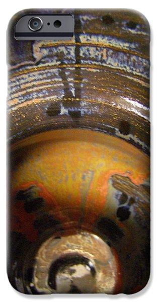 Glaze Ceramics iPhone Cases - Glaze of Glory iPhone Case by Sandi Floyd