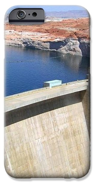 Glen Canyon Dam iPhone Case by Will Borden