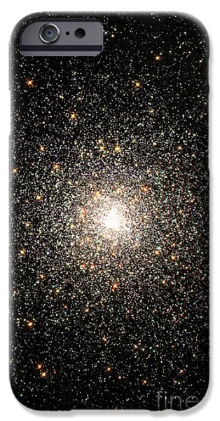 Constellations iPhone Cases - Globular Star Cluster Ngc 6093 iPhone Case by Stocktrek Images