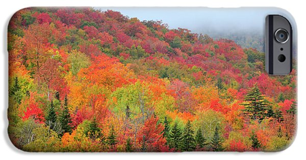 New England Autumn iPhone Cases - Glorious iPhone Case by Betty LaRue