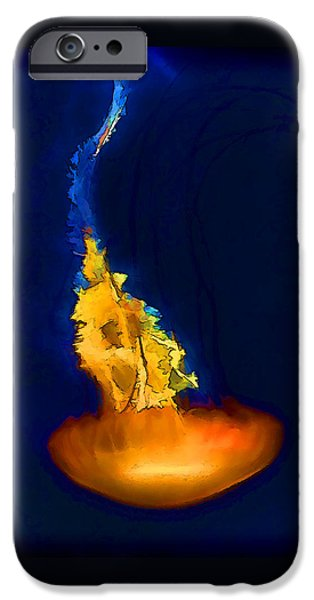 Marine iPhone Cases - Glorious Recluse iPhone Case by Wendy J St Christopher