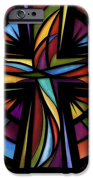 Glory To God iPhone Case by Shevon Johnson