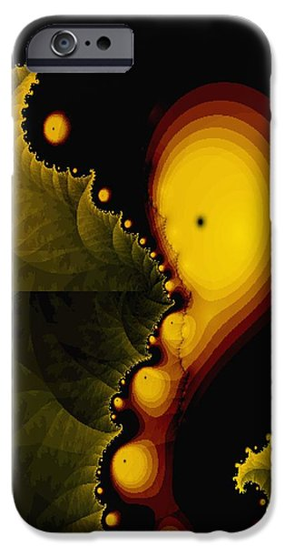 Gina Lee Manley iPhone Cases - Glow Worm iPhone Case by Gina Lee Manley