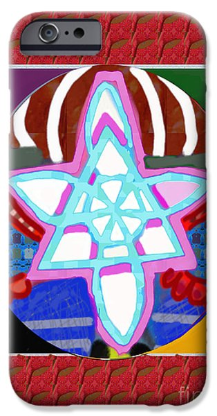 Serpent iPhone Cases - GNOSA Peace Karuna Reiki Healing Symbol art buy posters greetings pillows duvet covers phone cases  iPhone Case by Navin Joshi