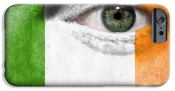 Backgrounds iPhone Cases - Go Ireland iPhone Case by Semmick Photo