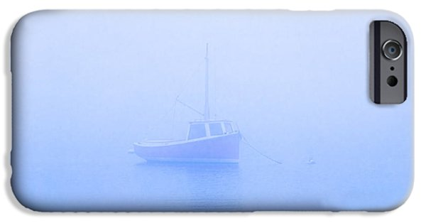Sailboat Ocean iPhone Cases - Gog Boat iPhone Case by John Greim