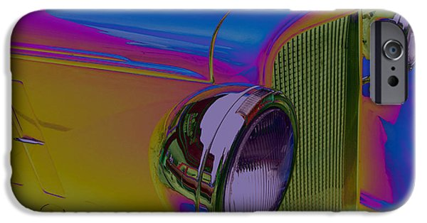 Old Cars iPhone Cases - Going Back To Cali iPhone Case by Bobbie Barth