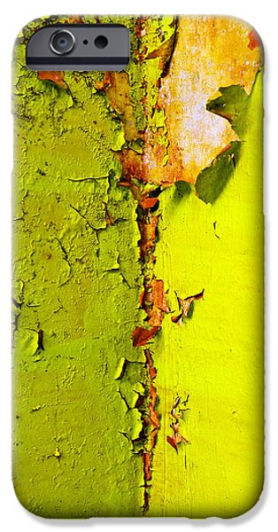 Photography Photographs iPhone Cases - Going Green iPhone Case by Skip Hunt