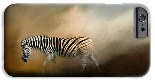 Stripes iPhone Cases - Going Home At Sunset iPhone Case by Jai Johnson