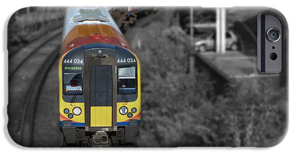 444 iPhone Cases - Going Home iPhone Case by Chris Day