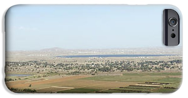 Torn iPhone Cases - Golan Heights iPhone Case by Ilan Rosen