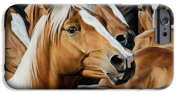 Equestrian iPhone Cases - Golden Child iPhone Case by JQ Licensing