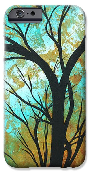 Texture iPhone Cases - Golden Fascination 4 iPhone Case by Megan Duncanson
