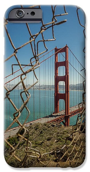 San Francisco Cali iPhone Cases - Golden Gate iPhone Case by Brad Monahan