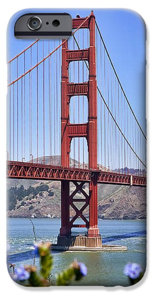 Golden Gate iPhone Case by Kelley King
