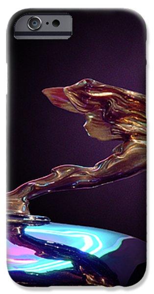 Golden Goddess iPhone Case by Kurt Golgart