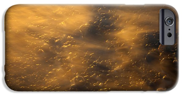 Spit iPhone Cases - Golden Light iPhone Case by Mike  Dawson