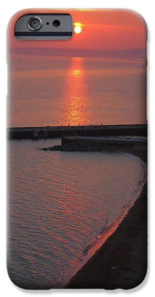 United iPhone Cases - Golden Path To The Sun iPhone Case by Rumyana Whitcher
