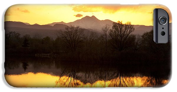 Photography Prints iPhone Cases - Golden Ponds Longmont Colorado iPhone Case by James BO  Insogna