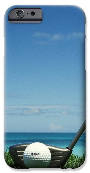 Golf Ball And Driver iPhone Case by Sri Maiava Rusden - Printscapes