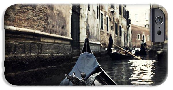 San Marco iPhone Cases - gondola - Venice iPhone Case by Joana Kruse