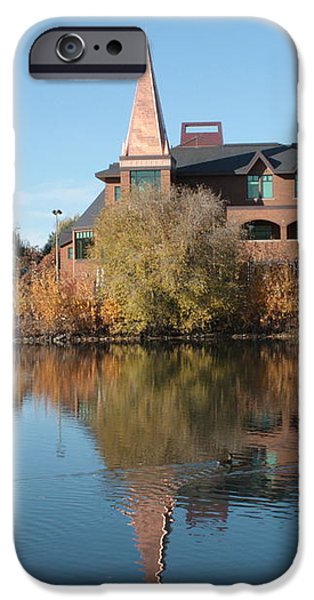 Gonzaga Art Building iPhone Case by Carol Groenen