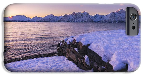 Ocean Sunset iPhone Cases - Good afternoon iPhone Case by Tor-Ivar Naess