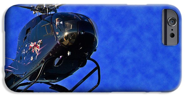 Buy iPhone Cases - Good Looking Helicopter iPhone Case by Miroslava Jurcik
