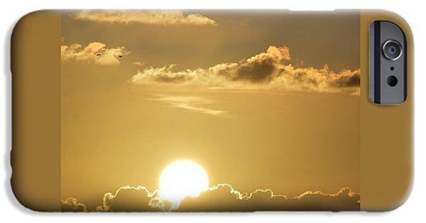 Disc iPhone Cases - Good Morning from Miami iPhone Case by Srinivasan Venkatarajan