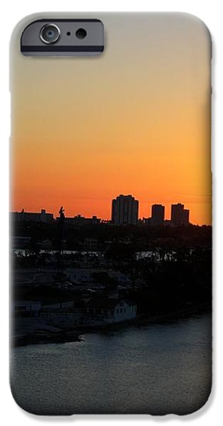 Good Morning Miami iPhone Case by Shelley Neff