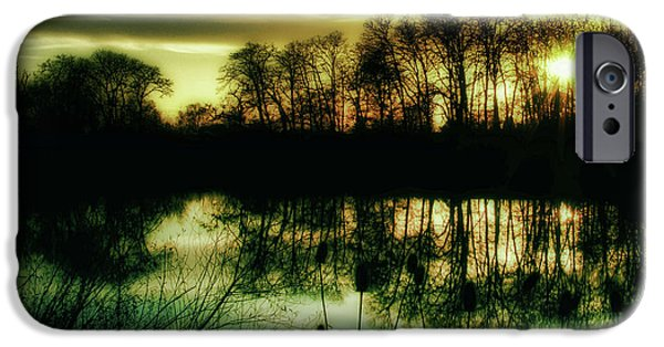 Willow Lake iPhone Cases - Goodbye to Today iPhone Case by Bonnie Bruno