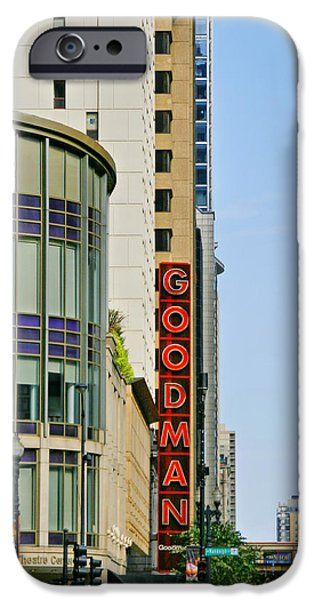 Innovative iPhone Cases - Goodman Memorial Theatre Chicago iPhone Case by Christine Till