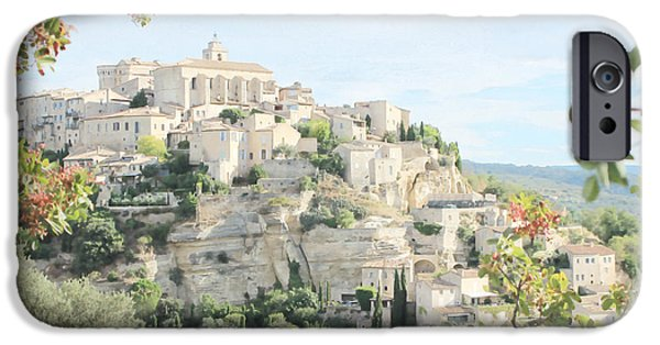 D.c. iPhone Cases - Gordes, France iPhone Case by Beagletree