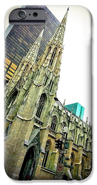 Empire State iPhone Cases - Gothic Majesty iPhone Case by Keith Rousseau