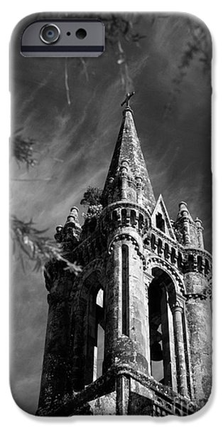 Gothic iPhone Cases - Gothic style iPhone Case by Gaspar Avila