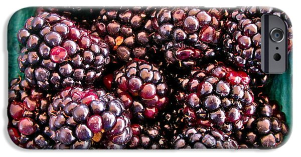 Black Berries iPhone Cases - Gotta have these iPhone Case by Gwyn Newcombe