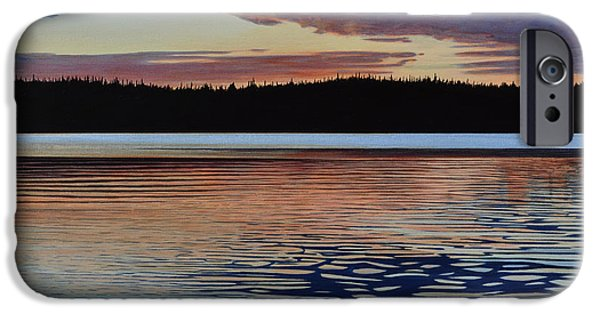 River iPhone Cases - Graham Lake iPhone Case by Kenneth M Kirsch