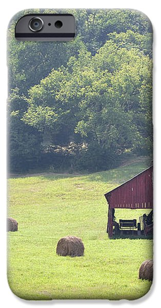 Grampa's Summer Barn iPhone Case by Jan Amiss Photography