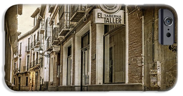 Facade iPhone Cases - Granada Morning iPhone Case by Joan Carroll