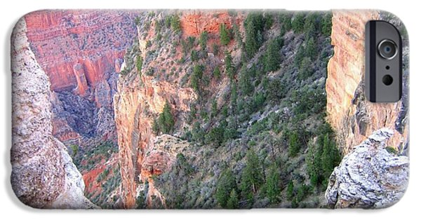 Grand Canyon iPhone Cases - Grand Canyon 87 iPhone Case by Will Borden