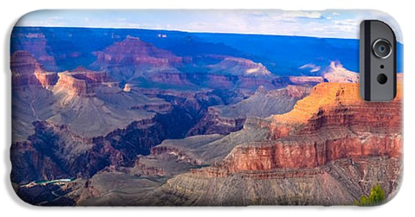 Recently Sold -  - Grand Canyon iPhone Cases - Grand Canyon Panoramic iPhone Case by Doug Vogel