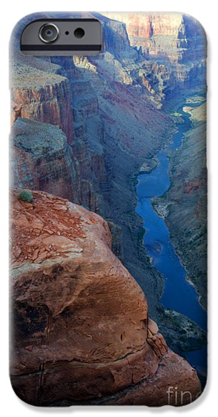 Grand Canyon iPhone Cases - Grand Canyon Toroweap iPhone Case by Bob Christopher