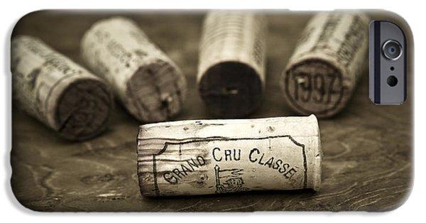 Wine Art iPhone Cases - Grand Cru Classe iPhone Case by Frank Tschakert