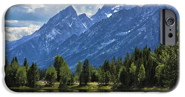 Epic iPhone Cases - Grand Tetons iPhone Case by Flat Owl Photo